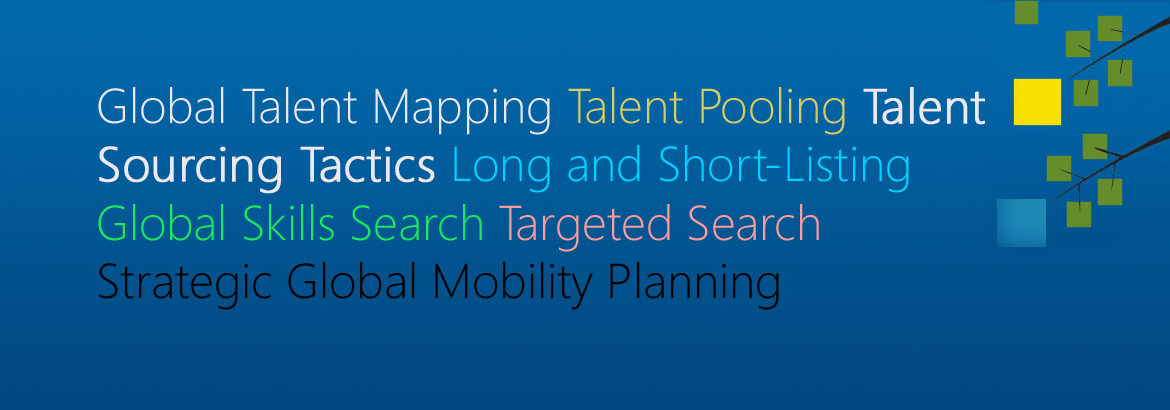 Global talent mapping
